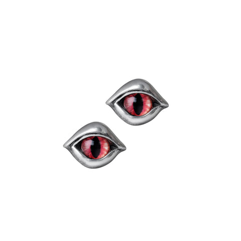 Demon Eye Stud Earrings by Alchemy Gothic