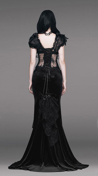 Gothic Nights Corset by Eva Lady