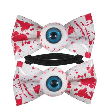 Eyeball Blood Splat Hairbow Bands by Kreepsville 666
