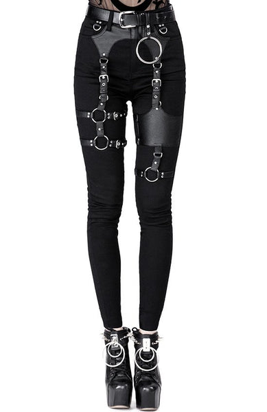 Gothic Harness Jeans by Restyle