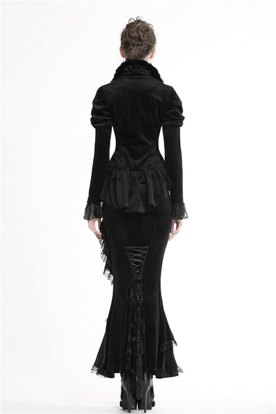 Gothic Night Velvet Jacket by Dark In Love