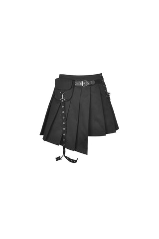 Ghoulfriend Pleated Skirt by Dark In Love