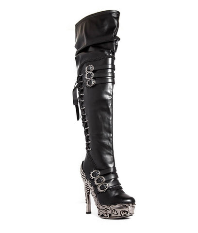 Lokie Thigh High Boots by Hades