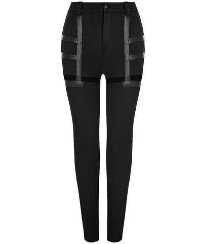 Lethal Cut-Out Leggings by Punk Rave