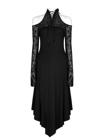 Punk Rave Elegant Rose Dress