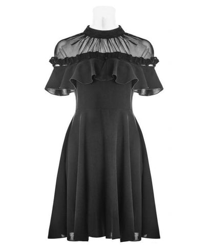 Punk Rave Romantic Frill Dress