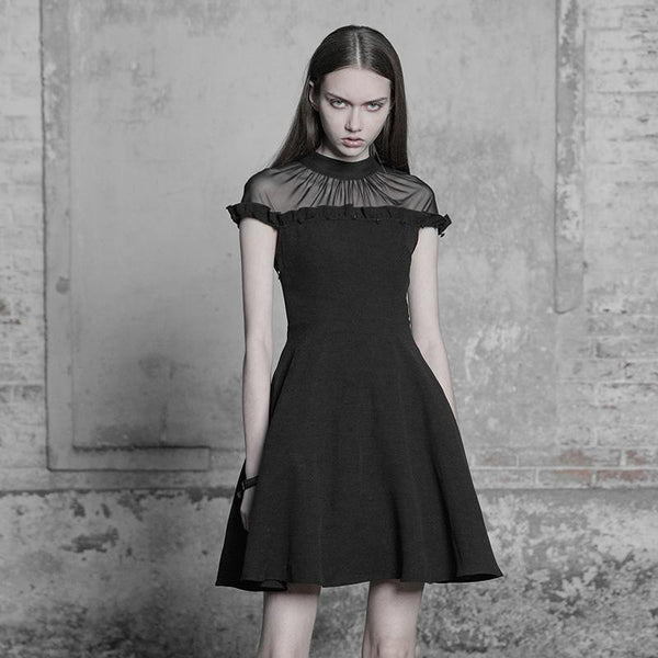 Romantic Frill Dress by Punk Rave