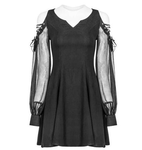 Dark Drama Dress by Punk Rave