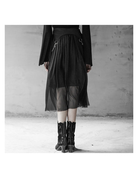 Dancing With Ghosts Skirt by Punk Rave