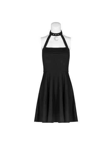 Moon Charm Halter Dress by Punk Rave