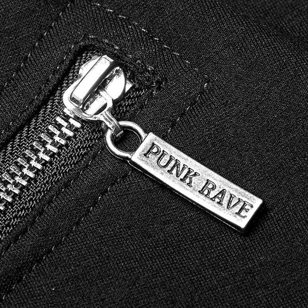 Punk Rave Zip Up Top