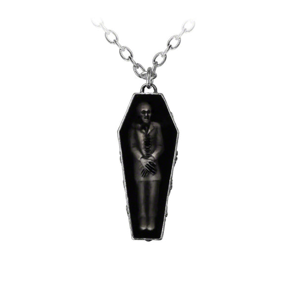 Nosferatu's Rest Pendant Necklace by Alchemy Gothic
