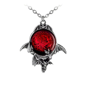Blood Moon Pendant by Alchemy Gothic