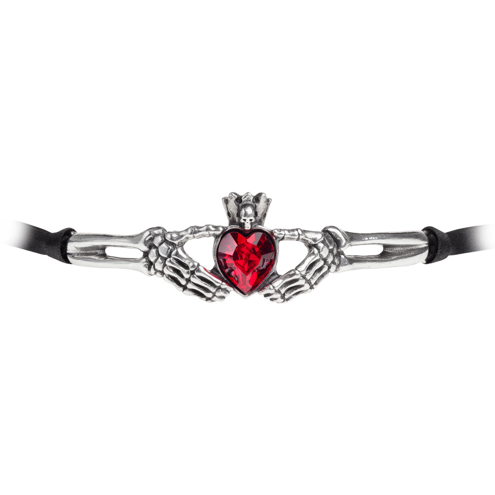 Claddagh By Night Choker by Alchemy Gothic