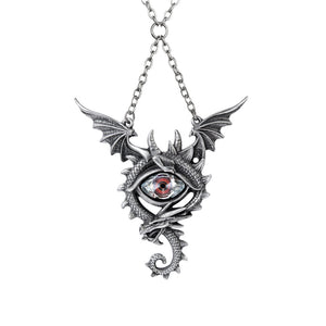 Eye of the Dragon Necklace by Alchemy Gothic