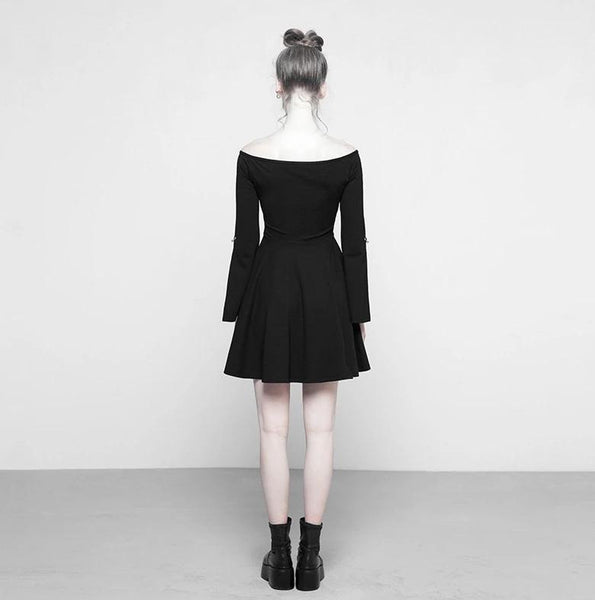 Soft Moon Phase Dress by Punk Rave