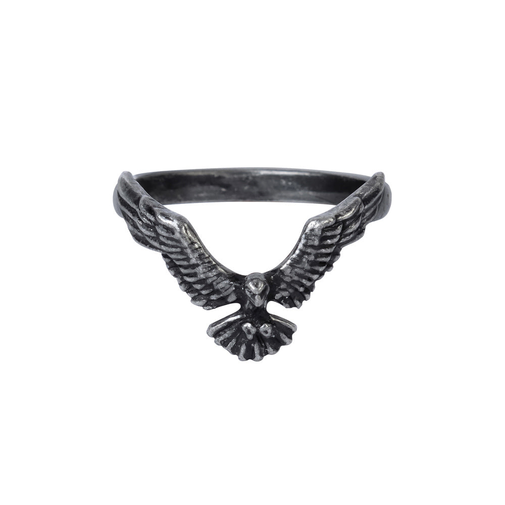 Ravenette Ring by Alchemy Gothic