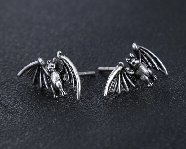 Creature of the Night Bat Earrings
