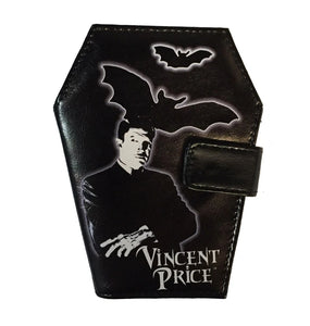 Vincent Price Coffin Wallet by Kreepsville 666