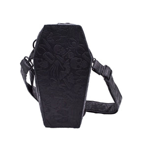 Coffin Convertible Hip Pouch by Kreepsville 666