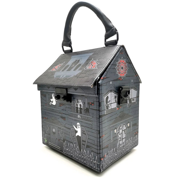 Haunted House Purse by Kreepsville 666