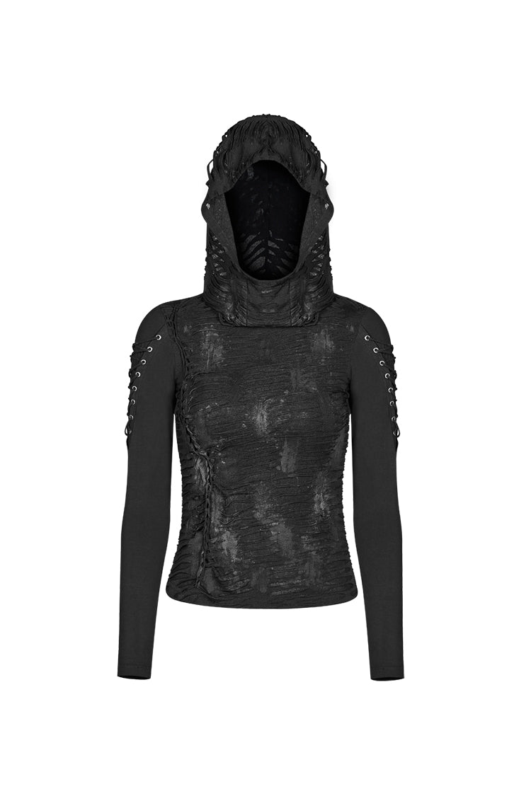 Maleficent Hooded Top by Punk Rave