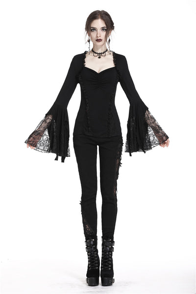 Belladonna Lacey Bell Sleeves Top by Dark In Love