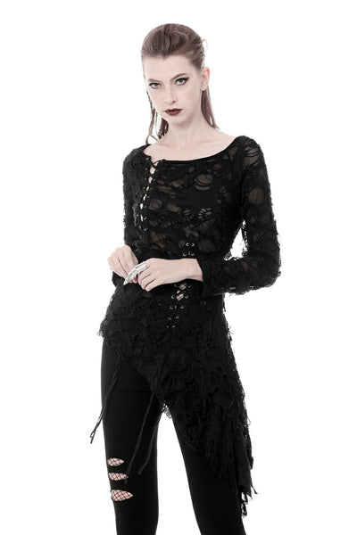 Slasher Skull Back Top by Dark In Love