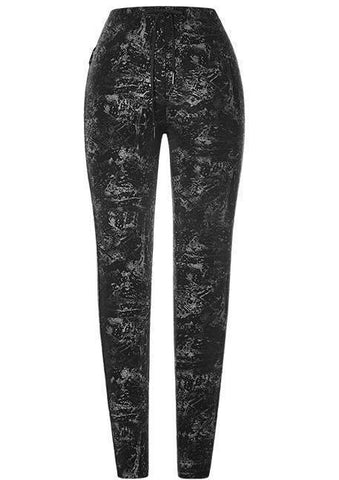 Punk Rave Distortion Leggings
