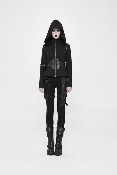 Carpe Noctem Buckle Pants by Punk Rave