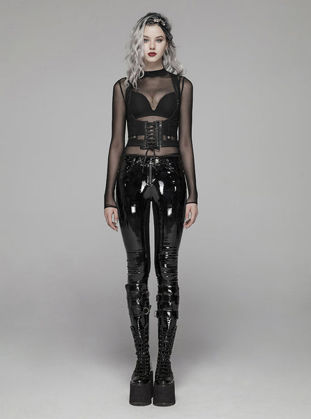Punk Patent Leather Pants by Punk Rave