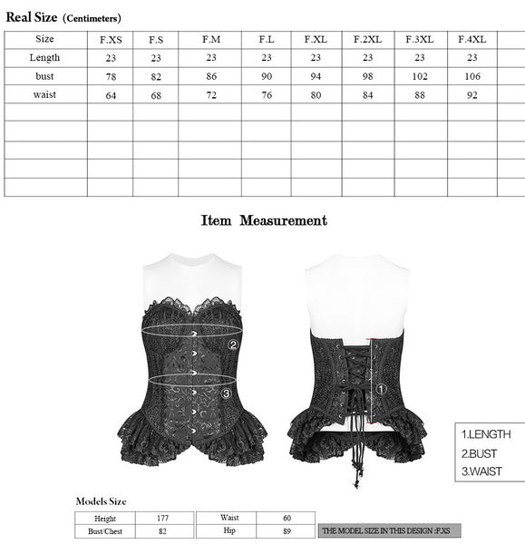 Elizabeth Lace Corset by Punk Rave