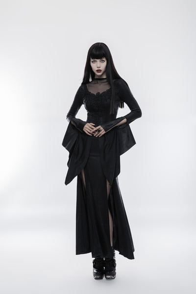 Shadows Split Dress by Punk Rave