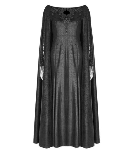 Punk Rave Gothic Cape Dress