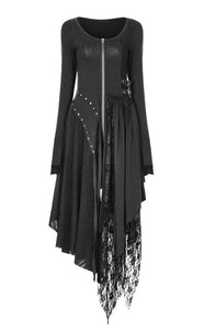 Asymmetric Lace Dress by Punk Rave