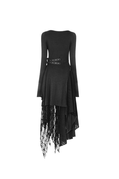 Punk Rave Asymmetric Lace Dress