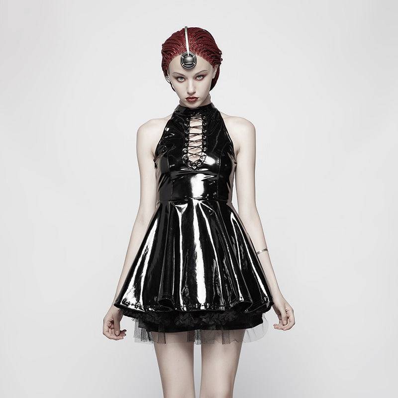 Black Ice Dress by Punk Rave