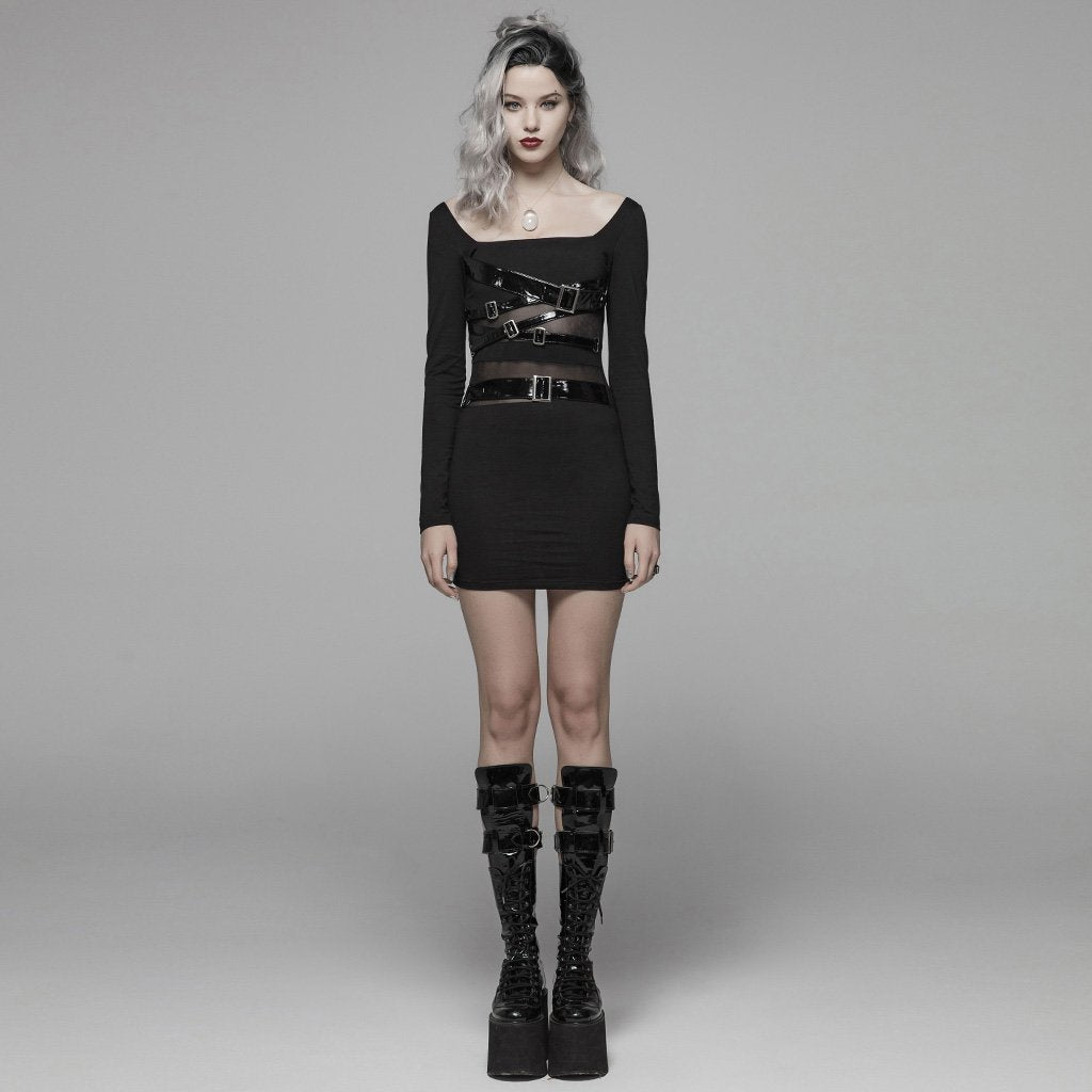 Ravage Buckle Dress by Punk Rave
