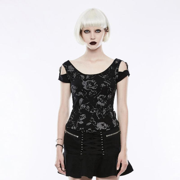 Dead Rose Shirt by Punk Rave
