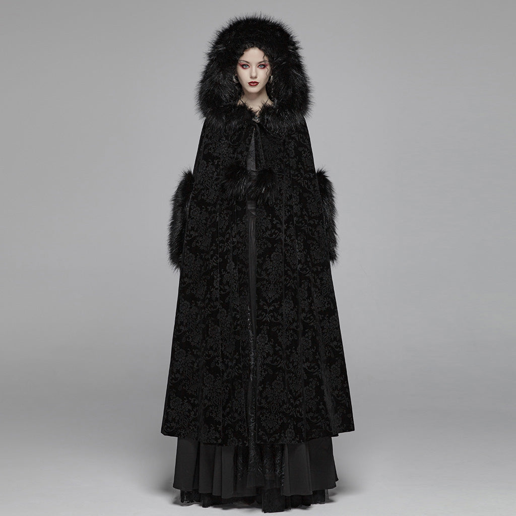 Gothic Wonderland Hooded Cloak by Punk Rave