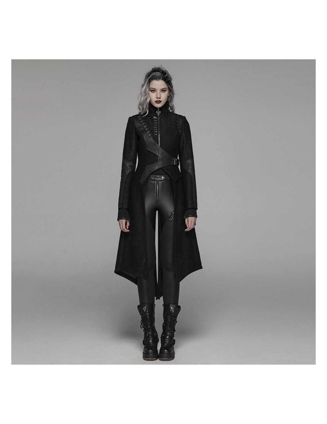 Banished Stand-Up Collar Jacket by Punk Rave