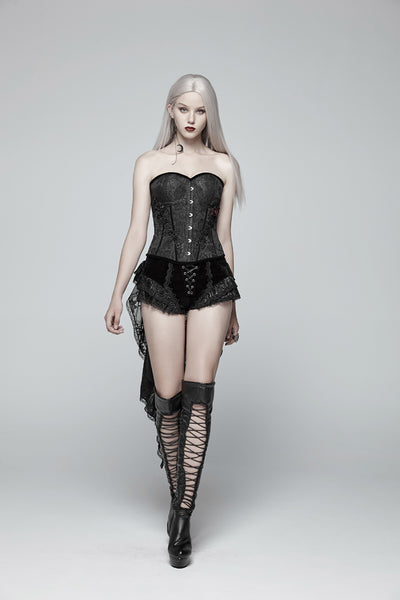 Scarlet Rose Corset by Punk Rave