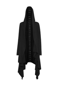 Punk Rave Asymmetric Doom Cardigan