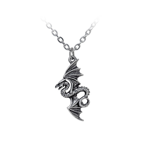 Flight of Airus Pendant Necklace by Alchemy Gothic