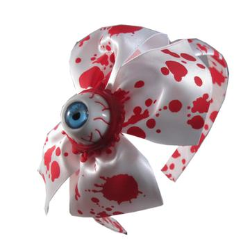 Alice Eyeball Splatter Headband by Kreepsville 666