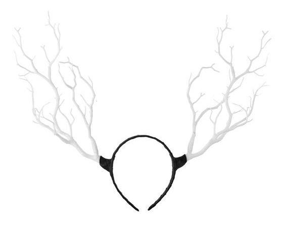 Dark Woodland Princess Branch Headband (4 Colors)