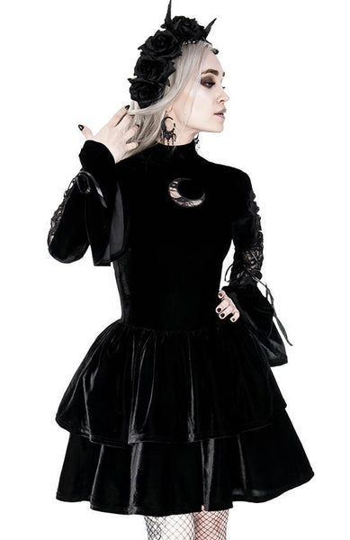 Neo Victorian Velvet Dress by Restyle