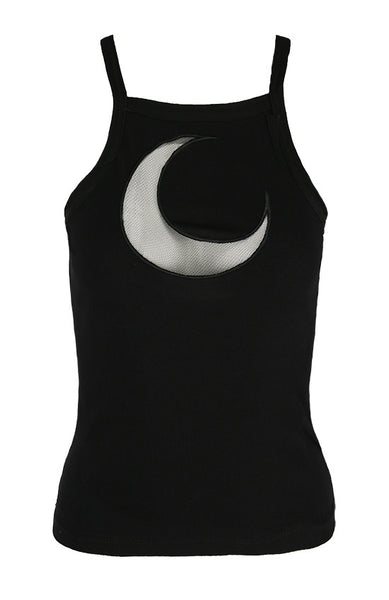 Gothic Mesh Moon Top by Restyle
