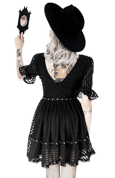 Lace Mesh Dolly Dress by Restyle