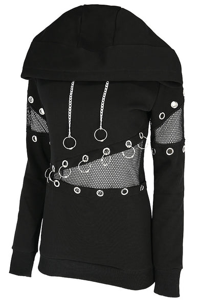 Mesh & Eyelets Jumper by Restyle